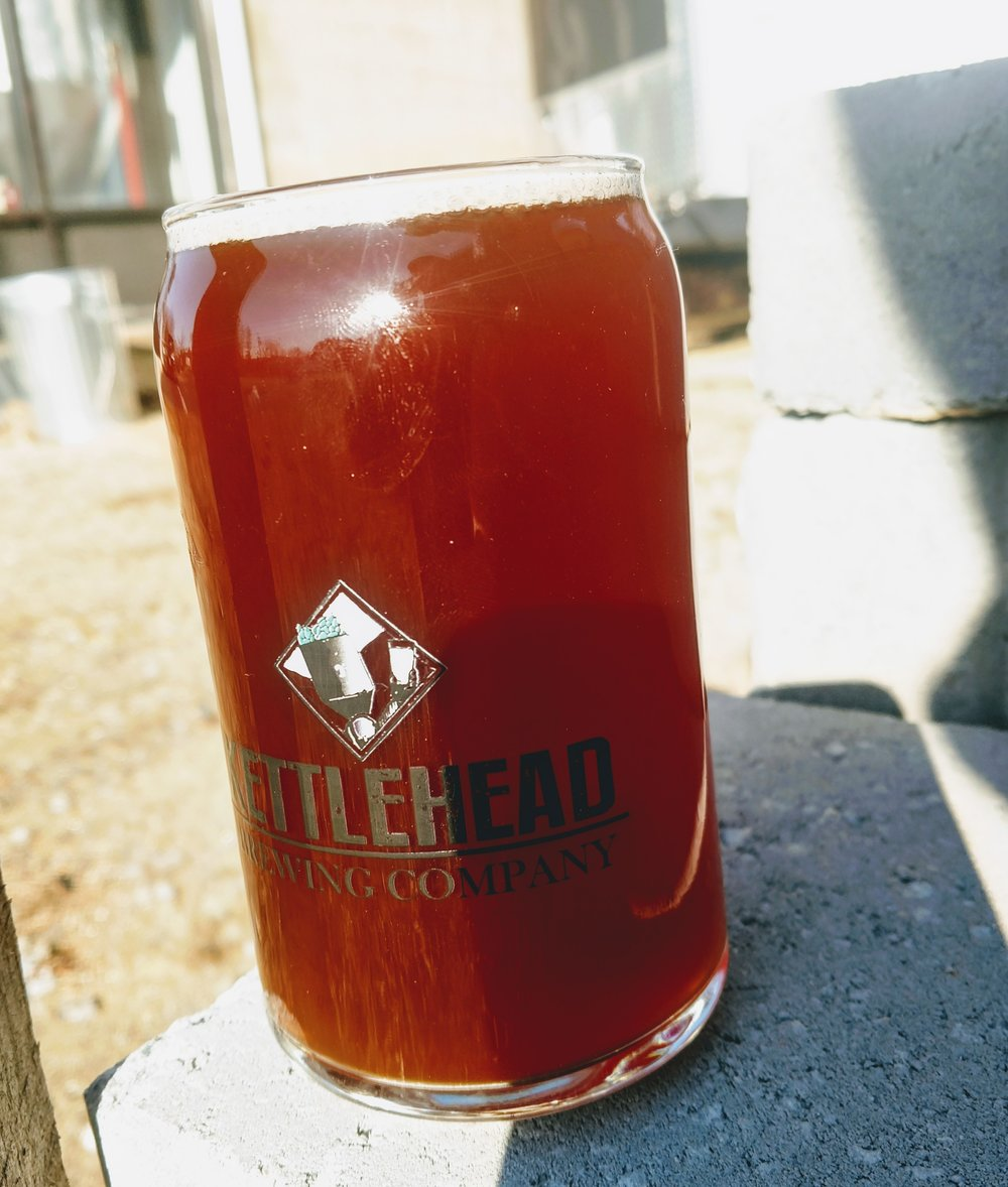 DR. DENALI'S HOPPY REDRED IPA7% ABV - Crisp, red IPA with a with a nice malt backbone, dry crisp finish, we loaded this with Belgian Candi syrup, and dry hopped it with Dr Rudi, and Denali hops.