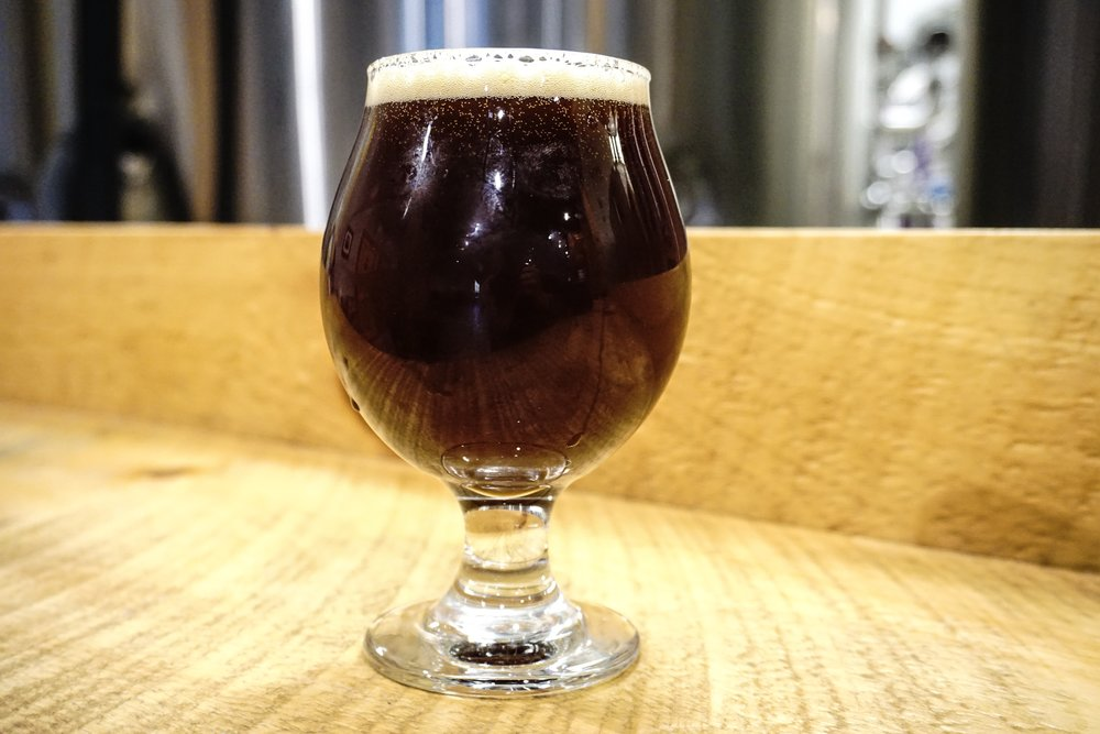 Claymore, Scotch Ale, 10% - A complex ale that warms the chest. This beer has a heavy malt bill providing a strong ABV and flavors of malty caramel and roasted malt.