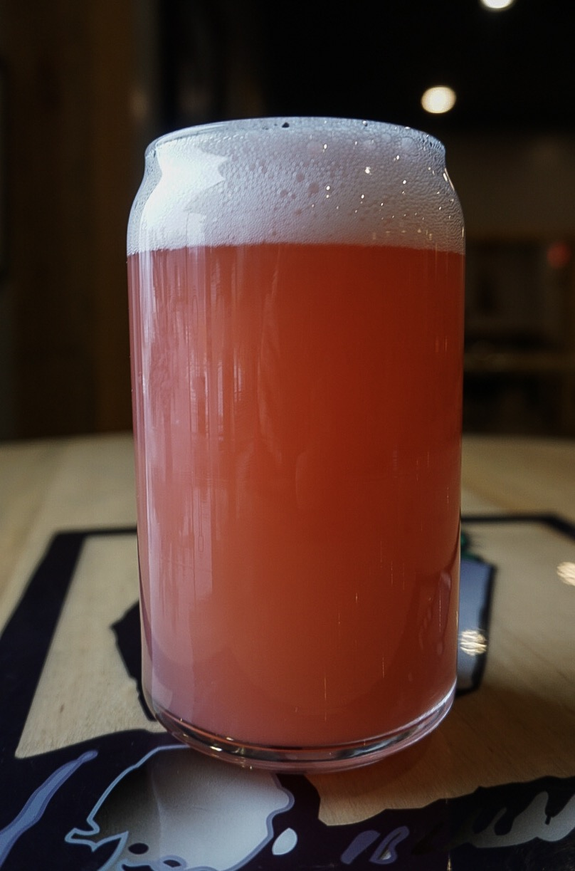Cloudy Pink Raindrops, Gose, 4.5% ABV - A gose ale. Sour & crisp, brewed with tart cherries, raspberries and sea salt