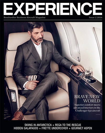 Experience, Bombardier Business Aircraft Magazine