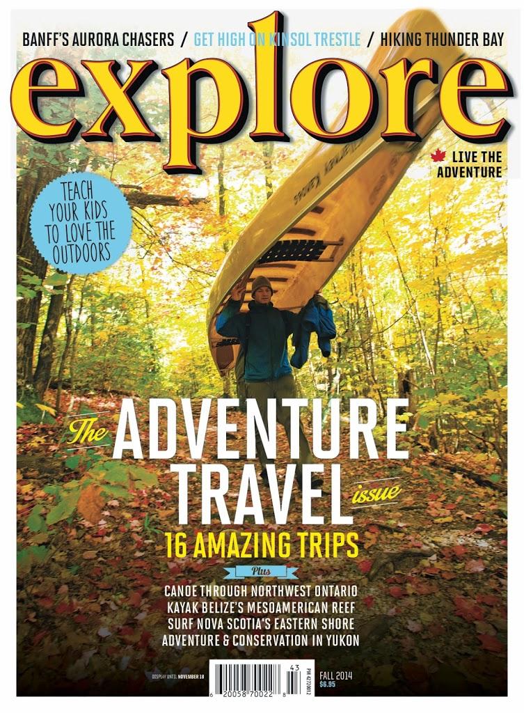 Explore Magazine, Fall 2014