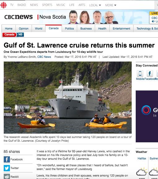 CBC Nova Scotia