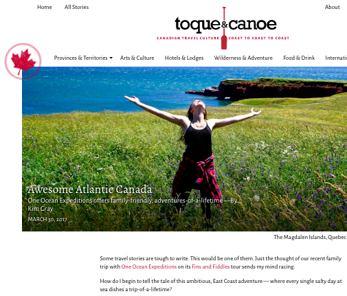 Toque and Canoe