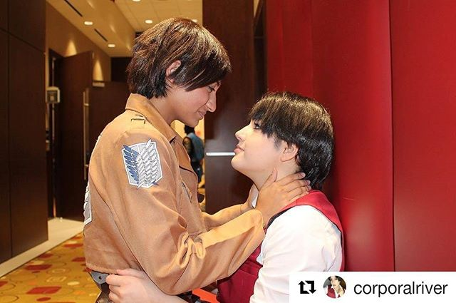 #Repost @corporalriver (@get_repost) ・・・ Just your average gays being 100x gayer than usual because of this cosplay 😅💕🤷🏽‍♀️😘 - - - ❤️personal account: @riverkiefer❤️ 💛cosplay account: @rivercosplay💛 💚Attack on Titan: @titan.feed💚 💙follow me on Twitter: RiverKiefer💙 💜add me on snapchat: riverkiefer💜 💞my tumblr: riverkiefer.tumblr.com💞 #cosplay #cosplayer #cosplayaccount #erericosplay #cosplaylife #zicon #aot #snk #aotcosplay #snkcosplay #shingekinokyojin #shingekinokyojincosplay #attackontitan #attackontitancosplay #attackontitancosplayer #shingekinokyojincosplayer #aotcosplayer #snkcosplayer #leviackerman #levicosplay #leviackermancosplay #ereri
