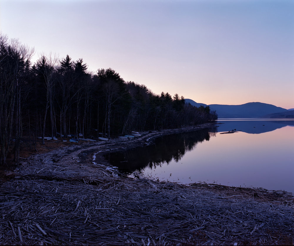 Sunset at Catskill. Mamiya RZ67, 65mm at f/22 1 sec. Kodak Portra 400