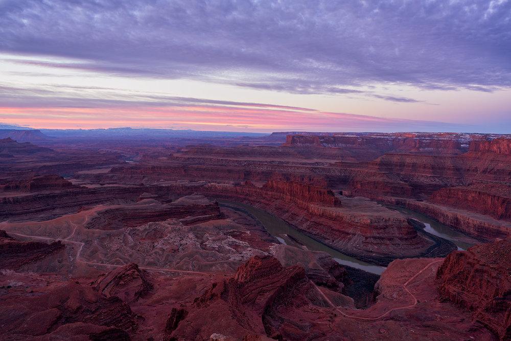 Dawn at Dead Horse Point