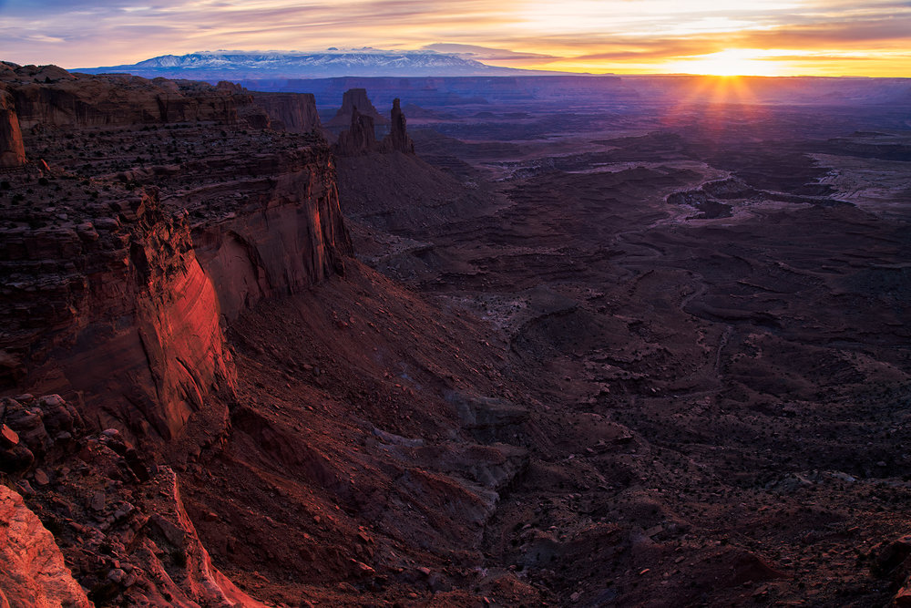 Sunrise at Canyonlands National Park