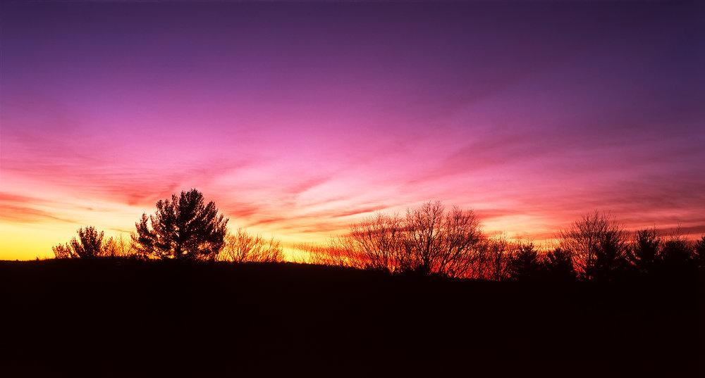 Sunrise In Catskill, NY