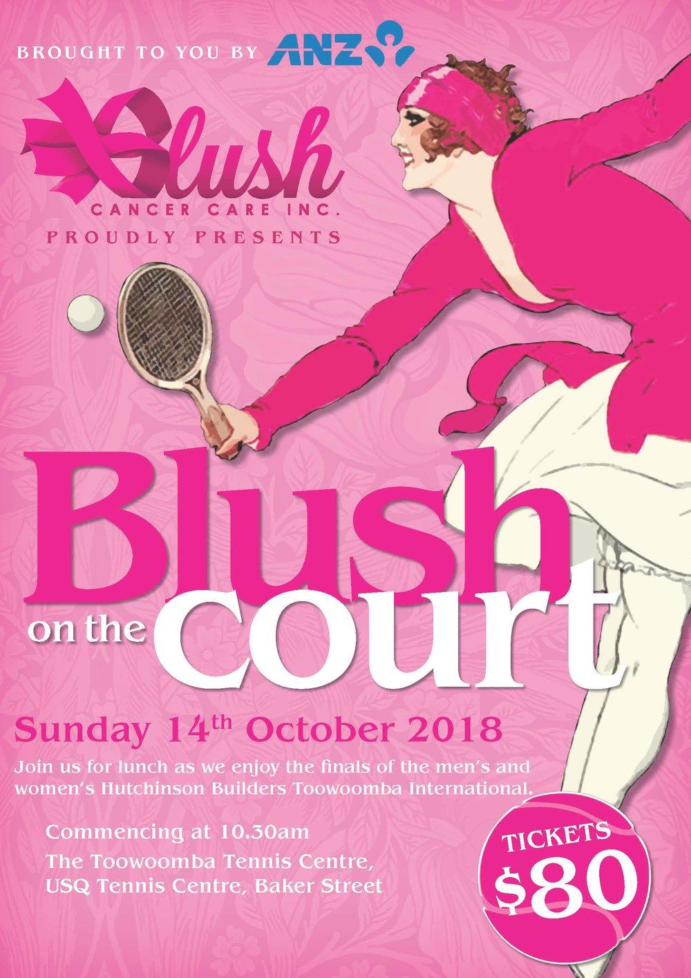 Blush on the Court Toowoomba