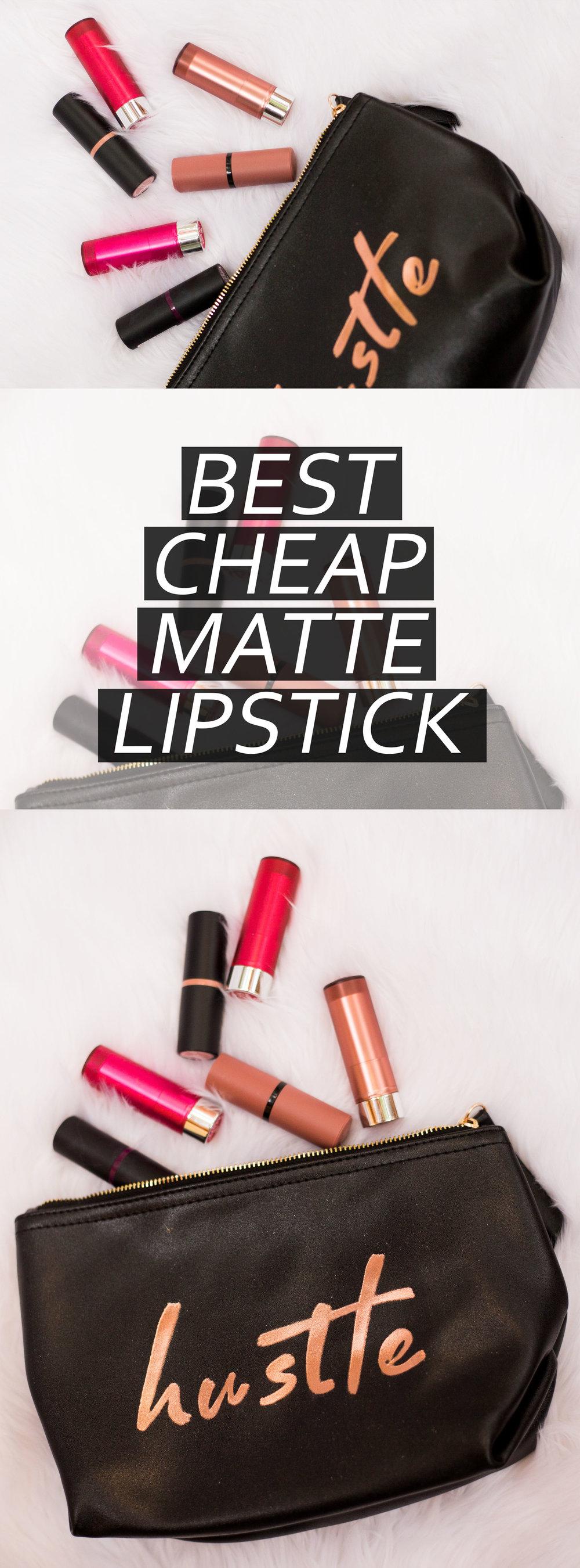 Essence Matte Matte Matte Lipstick Review
