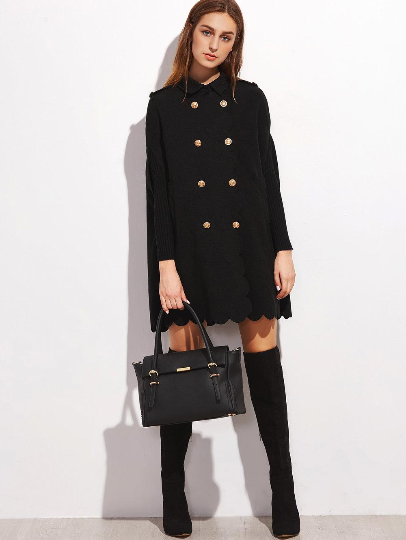 black friday sales shein black coat
