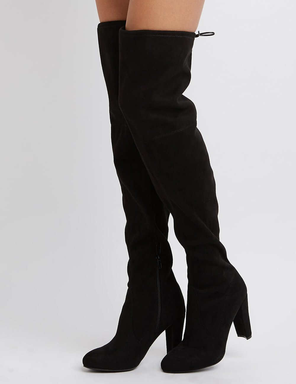 black friday sales charlotte russe black otk boots