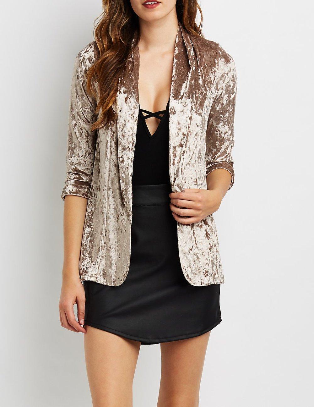 black friday sales velvet blazer