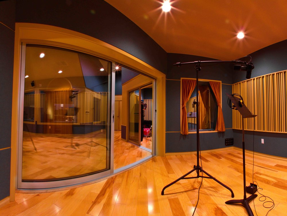 Large & Small Isolation Booth - (studio designed by Carl Yanchar @ www.yanchardesign.com)