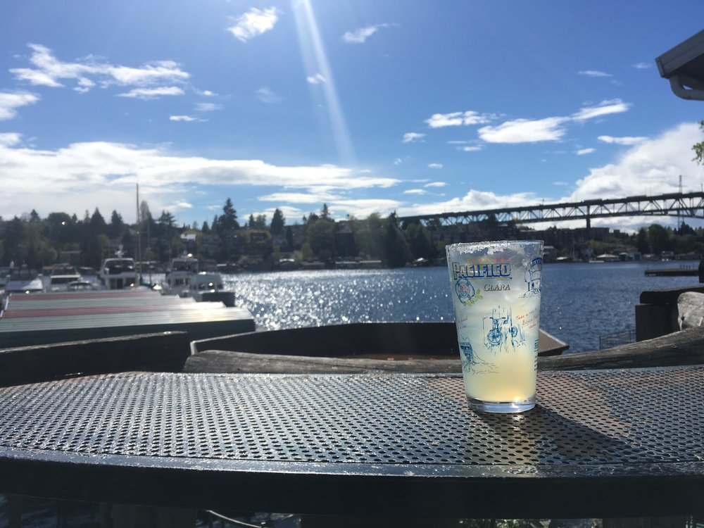 Cerveza on Portage Bay.