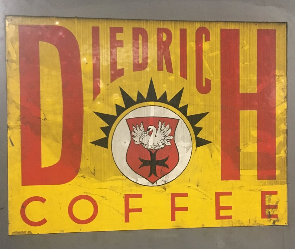 Diedrich Sign on the factory floor in Ponderay, Idaho.