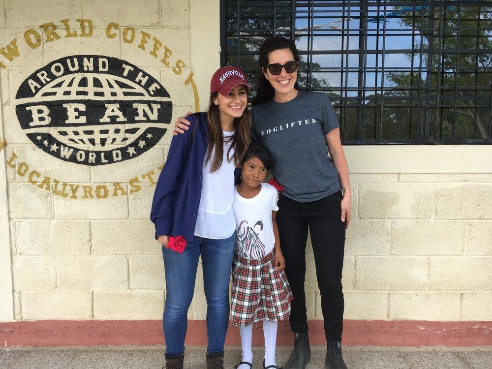 With Katia Zelaya.