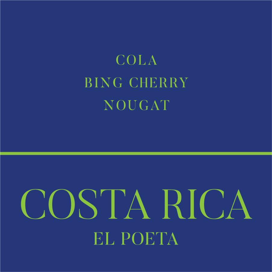 Costa Rica El Poeta coffee