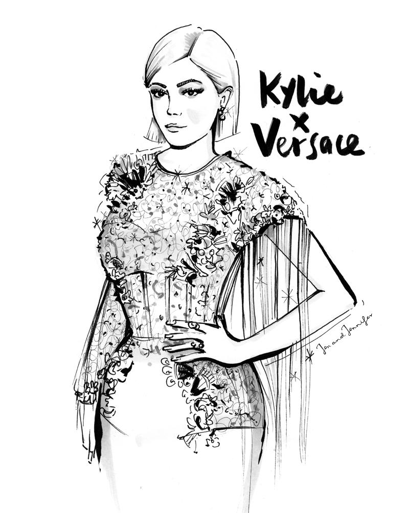 Kylie Jenner in Verscae