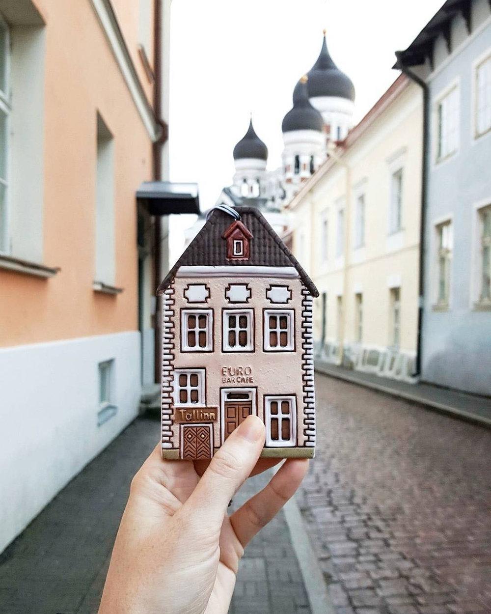 Tallinn's Old Town is like one big Gingerbread village