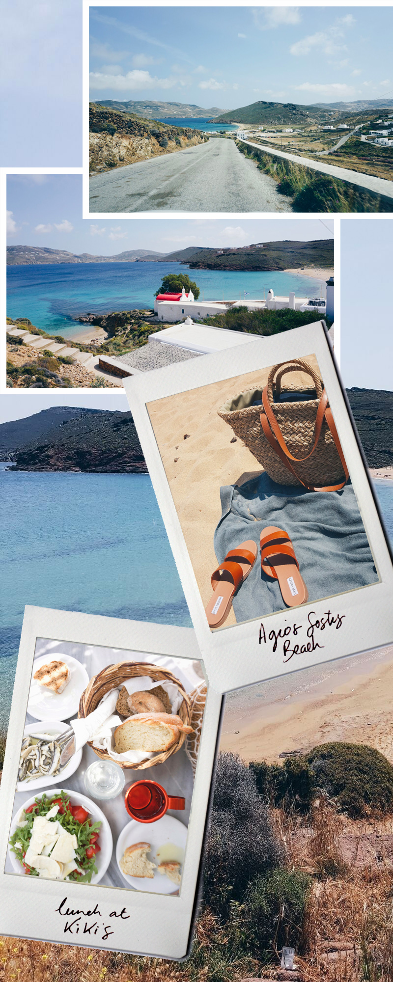 Our road trip featuring the best beach and the most delicious lunch