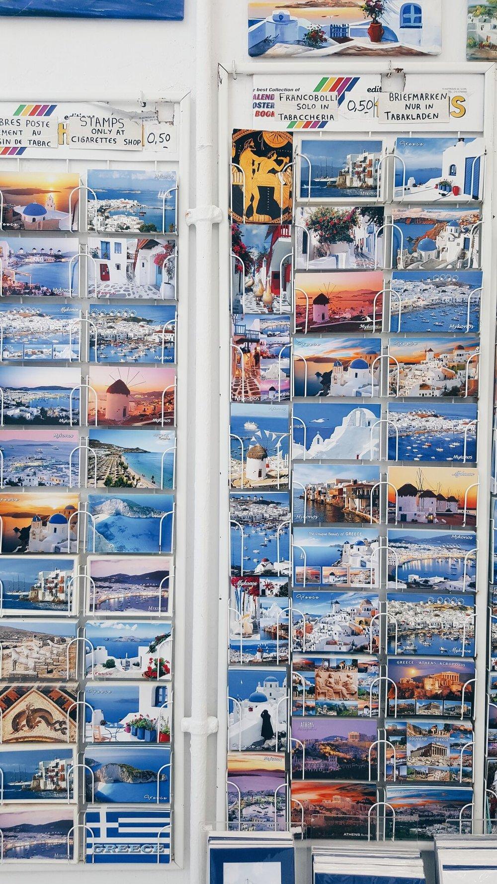 Postcards from Mykonos