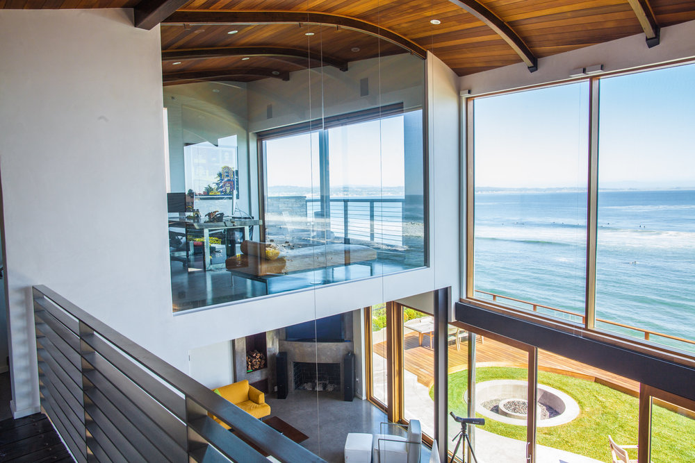 Jaw dropping executive office with infinity ocean views and custom deck
