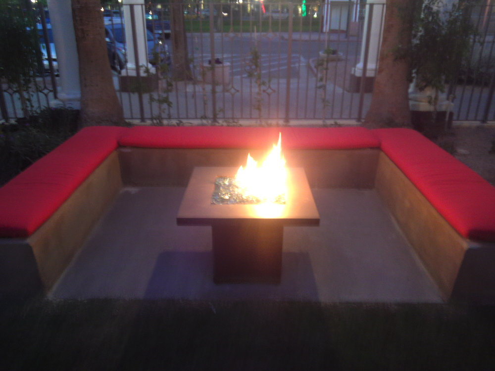 San Marcos Fire-pit Table