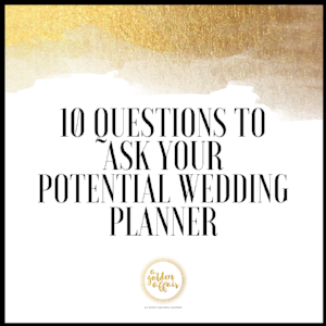Questions for Wedding Planner
