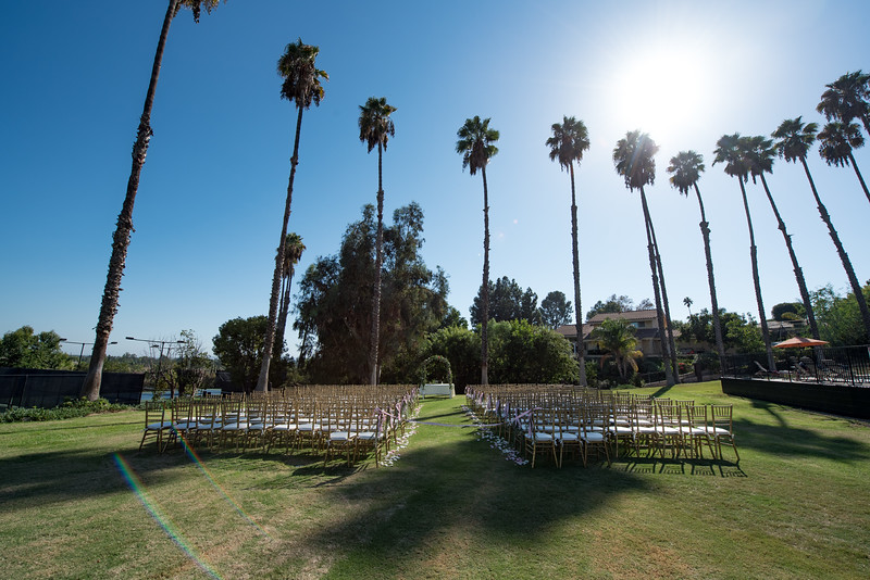 Outdoor Wedding at Tustin Hills Racquet Club