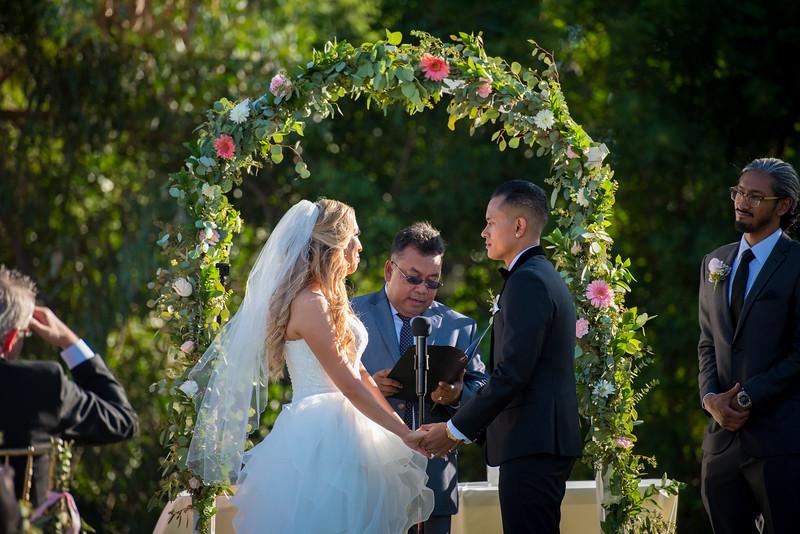 Outdoor Wedding at Tustin Hills Racquet Club