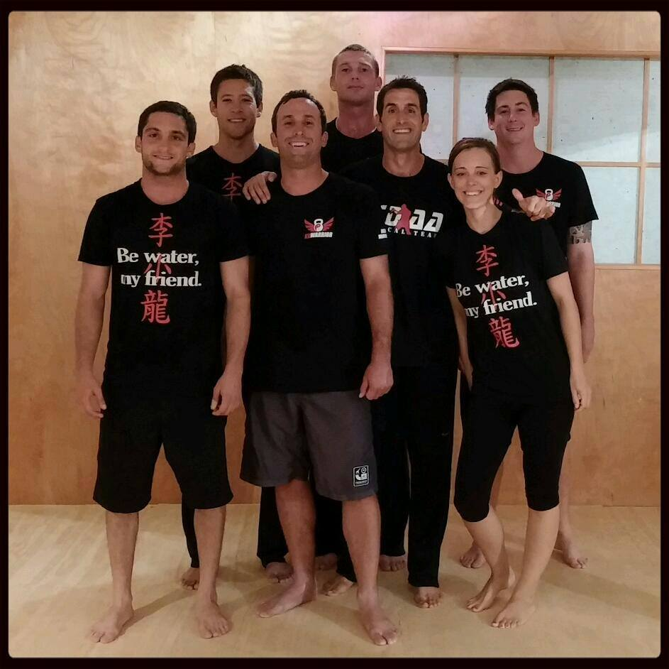 Some of the Action Strength / JKD Laguna team after training