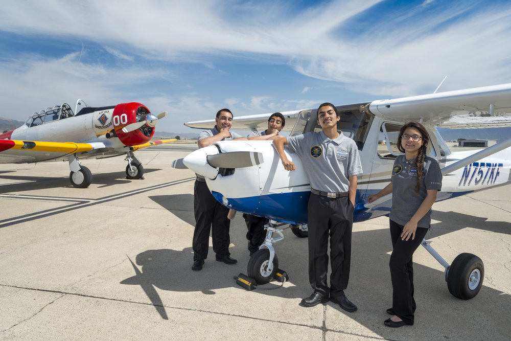 Using the Power of Flight   To Change Lives   And Inspire Passion in STEAM   Learn More