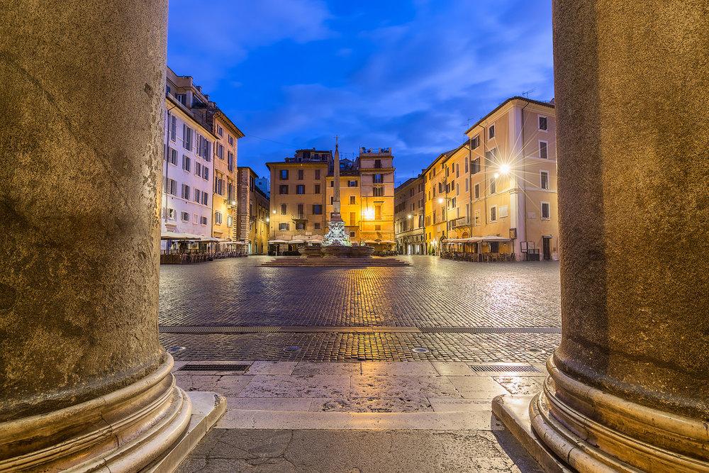 Die Säulen des Pantheons