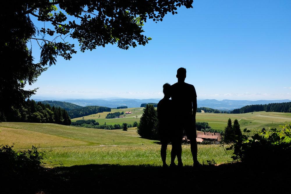 Auf dem Hotzenwald Höhenweg
