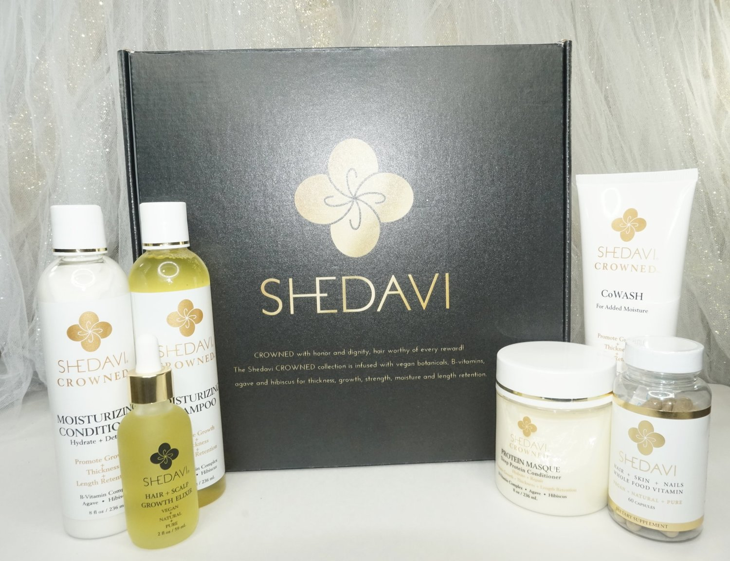 Healthy Hair Growth With Shedavi Products Curl Confessions