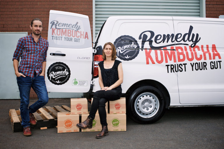 Image courtesy of Remedy Drinks. Sarah wear Staple Store jeans.