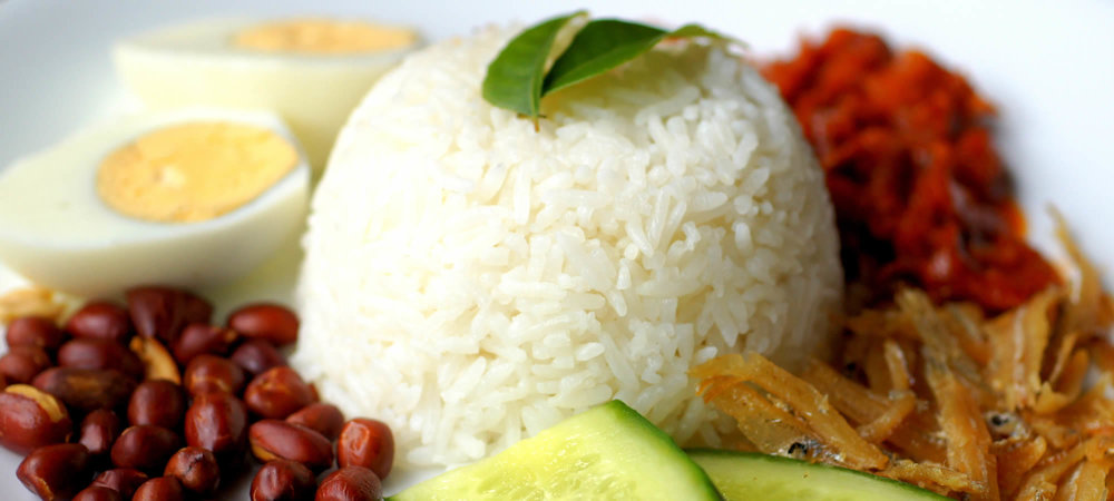 Nasi Lemak Coconut Rice