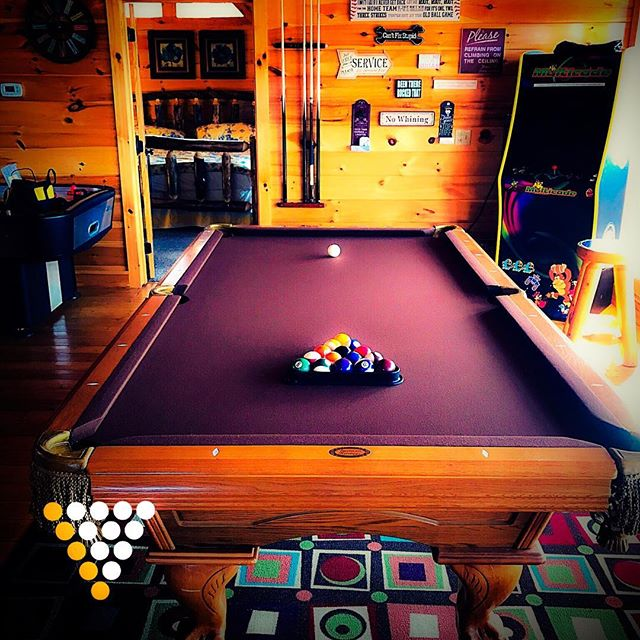 Servicing #billiards #8ball #pooltable #gatlinburg #pigeonforge