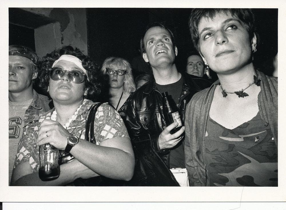 Enraptured at Al's Bar, Los Angeles, ca 1980