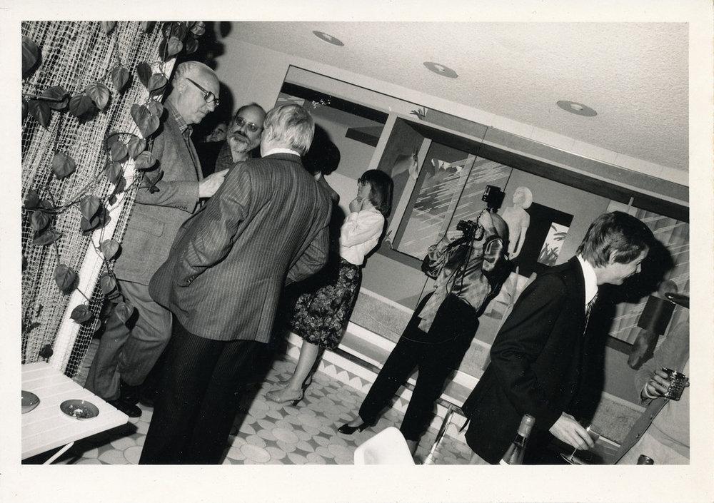 Betty Freeman salon, Los Angeles, 1981