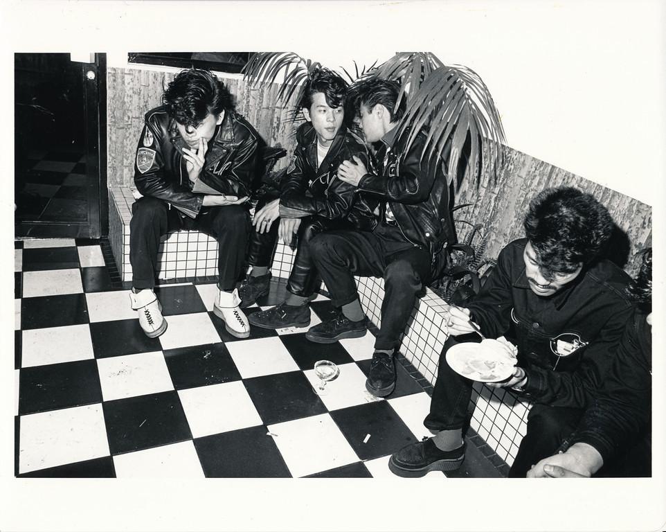 Black Cats, China Club, Los Angeles, ca 1980. (1/9)