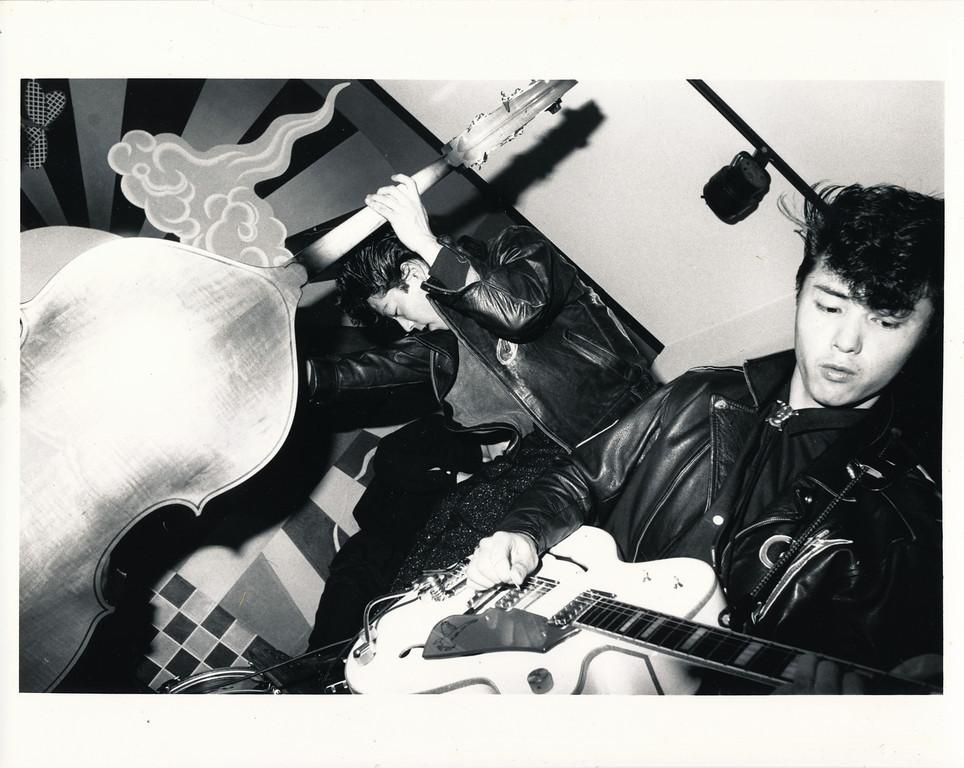 Black Cats, China Club, Los Angeles, ca 1980. (3/9)