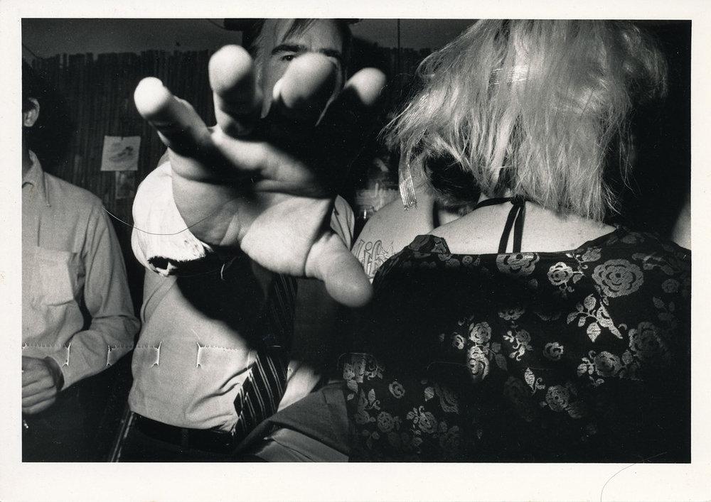 Gov. Jerry Brown, Al's Bar, Los Angeles, ca 1980