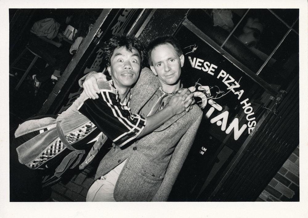 Hisao Shinagawa and Peter Ivers, Los Angeles. ca 1979