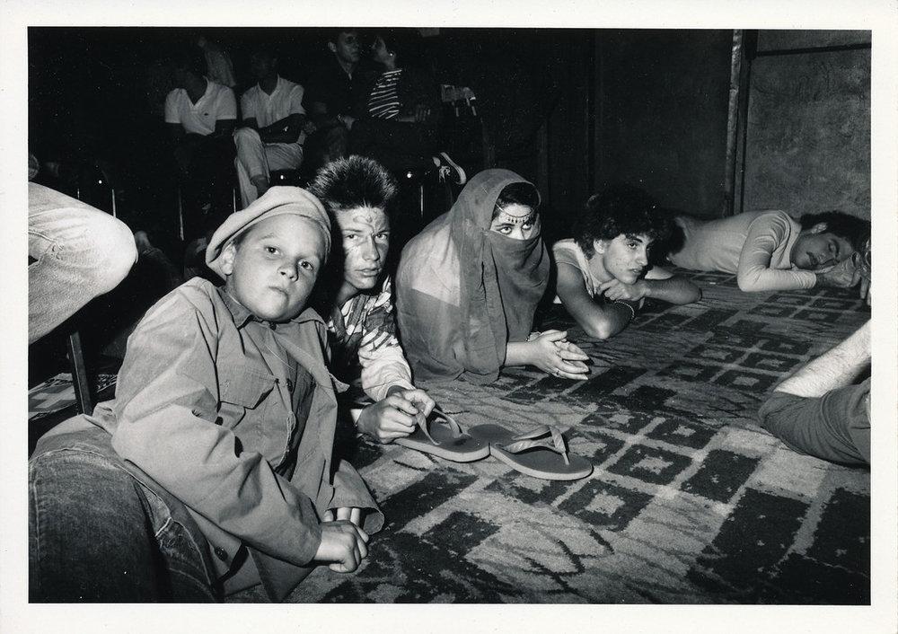 Mini-mob, Los Angeles, ca 1980