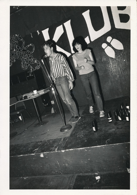 On Klub rap contest, Los Angeles, ca 1979