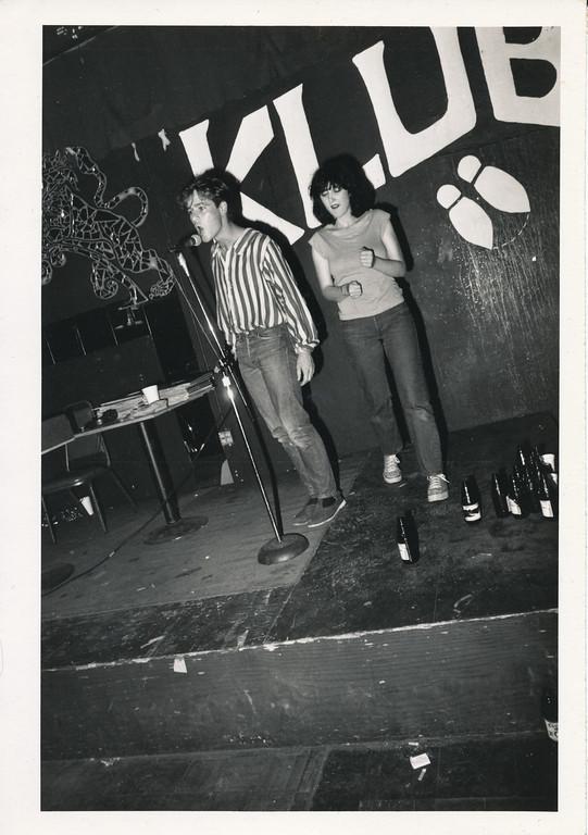 On Klub rap contest, Los Angeles, ca 1979