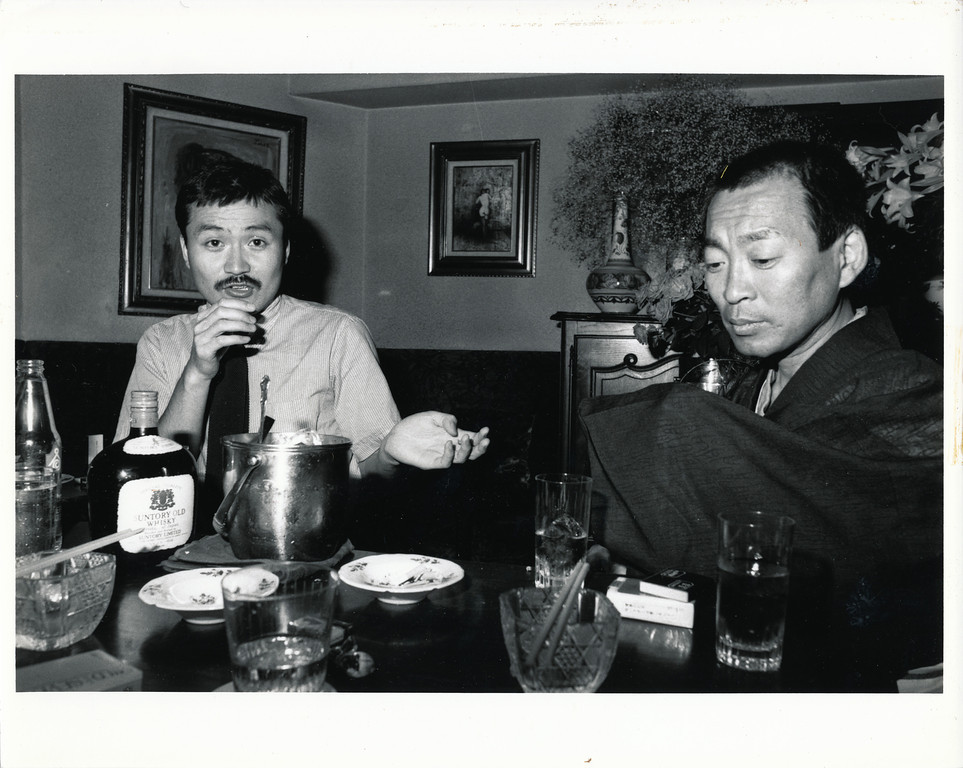 Host bar, Tokyo, 1980