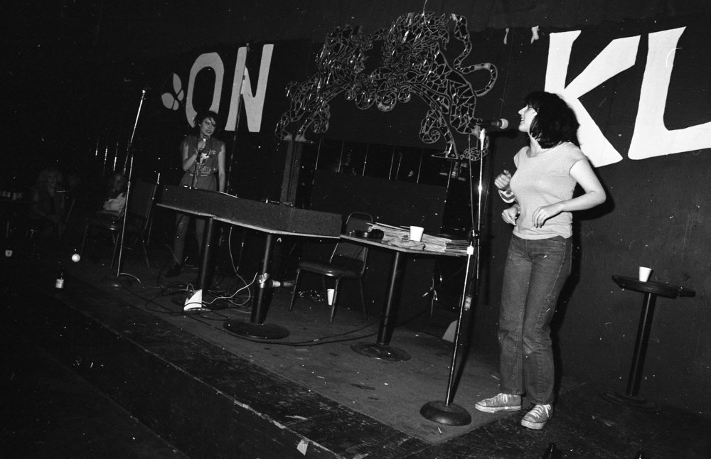 Rap contest, On Klub, Los Angeles, ca. 1979.
